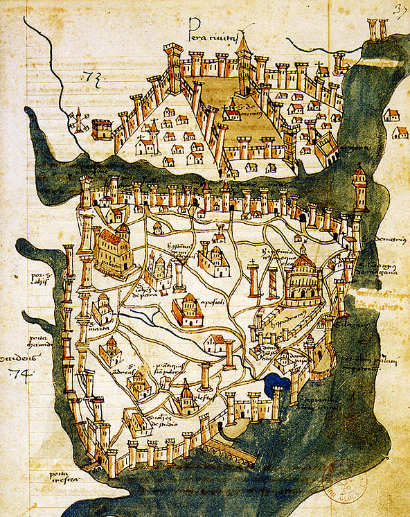 Map_of_Constantinople_(1422)_by_Florentine_cartographer_Cristoforo_Buondelmonte
