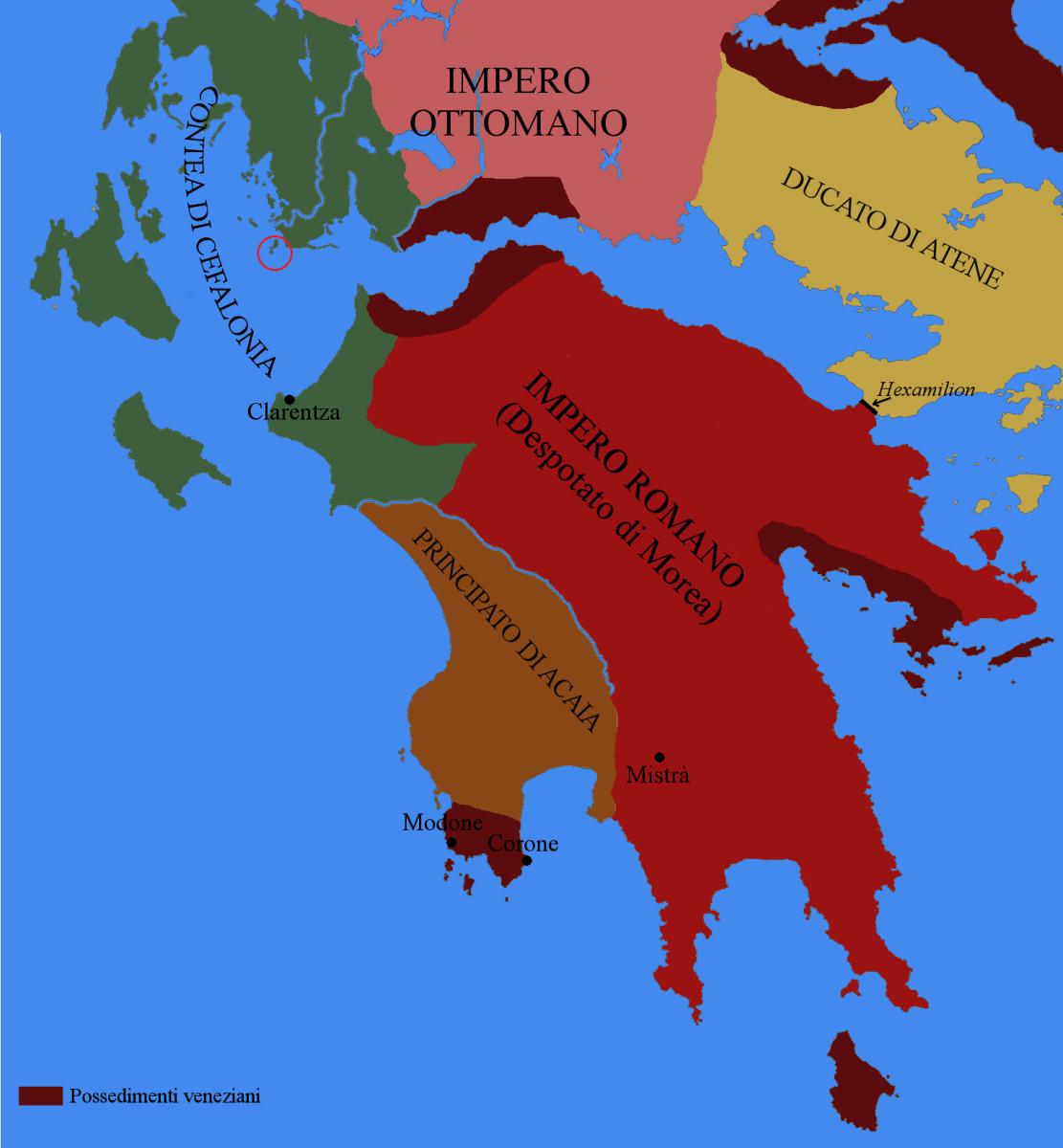 La battaglia delle Echinadi (1427): l'ultima vittoria navale romana